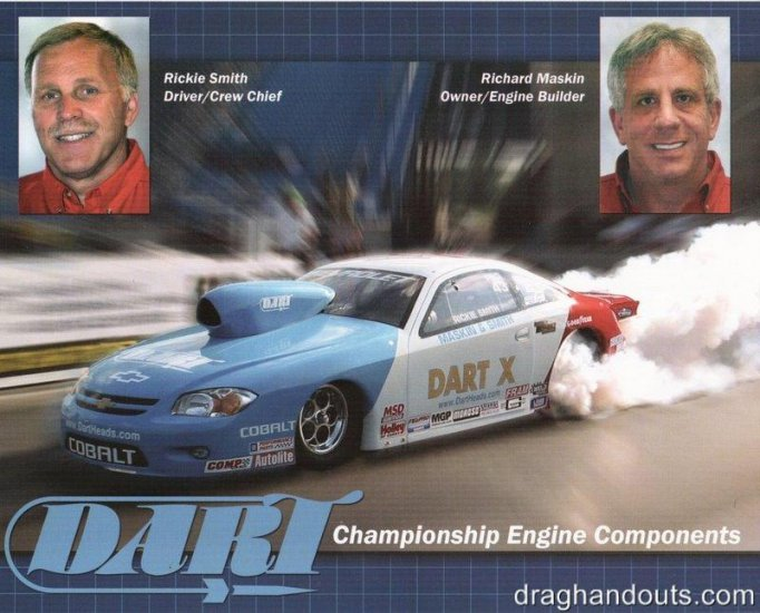 2005 NHRA PS Handout Rickie Smith (Dart)