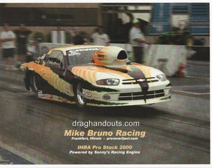 2005 NHRA Handout Mike Bruno (version #1)