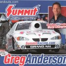 2005 NHRA PS Handout Greg Anderson (version #1)