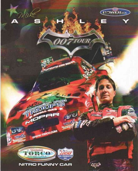 2007 NHRA FC Handout Mike Ashley (version # 1)