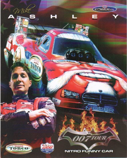 2007 NHRA FC Handout Mike Ashley (version #2)