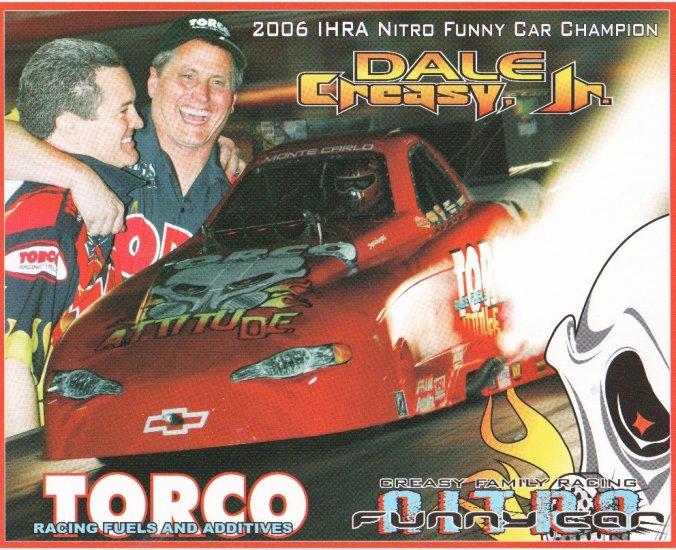 2007 NHRA FC Handout Dale Creasy