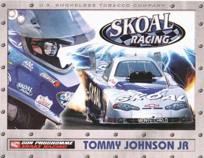 2007 NHRA FC Handout Tommy Johnson Jr.
