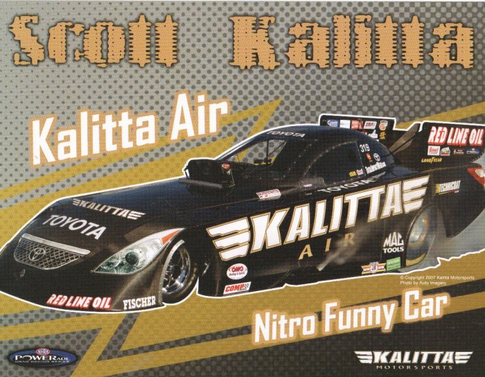 2007 NHRA FC Handout Scott Kalitta (version #1)