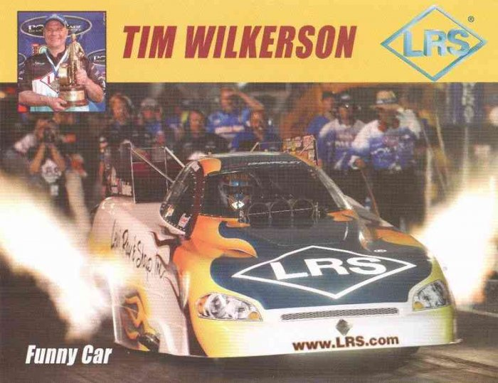 2007 NHRA FC Handout Tim Wilkerson