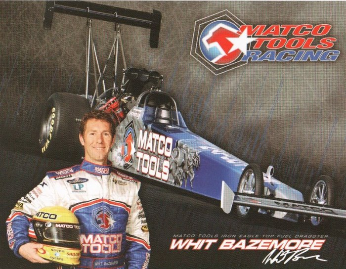 2007 NHRA TF Handout Whit Bazemore (8x10)