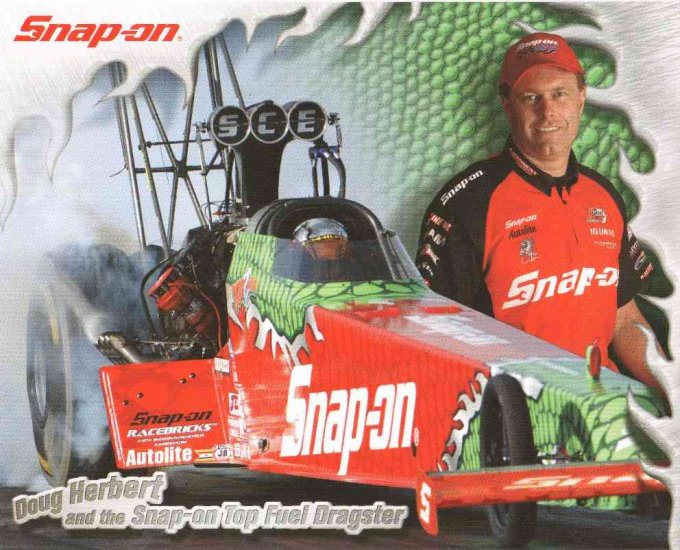 2007 NHRA TF Handout Doug Herbert