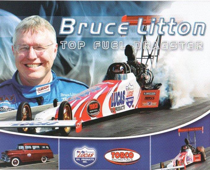 2007 NHRA TF Handout Bruce Litton