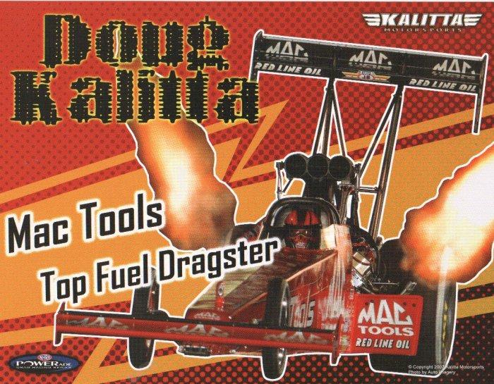 2007 NHRA TF Handout Doug Kalitta (Mac Tools-version # 1)
