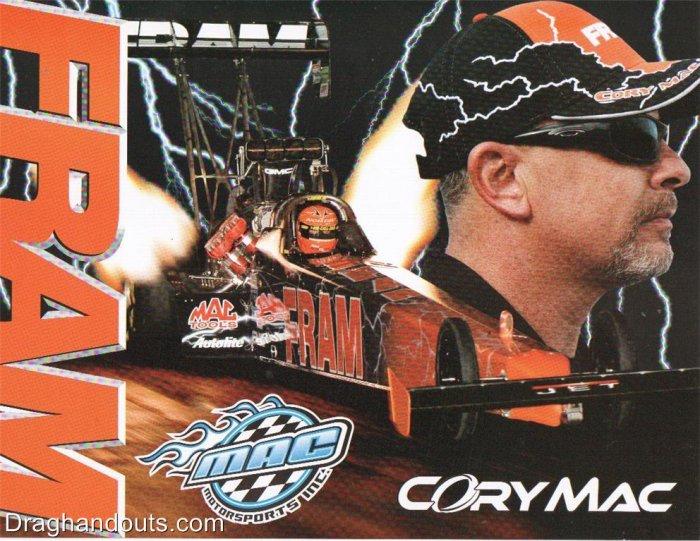 2007 NHRA TF Handout Corey McClenathan (Mac Motorsports)