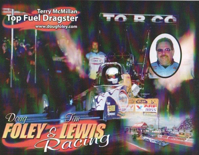 2007 NHRA TF Handout Terry McMillan