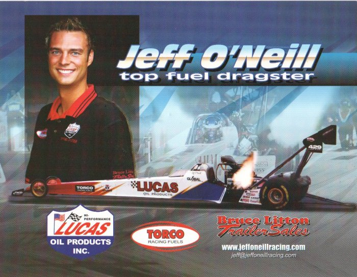 2007 NHRA TF Handout Jeff O'Neil