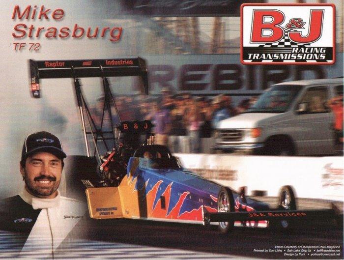 2007 NHRA TF Handout Mike Strasburg