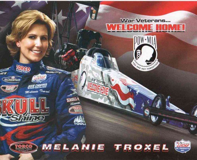 2007 NHRA TF Handout Melanie Troxel (Skull Shine version # 2) wm