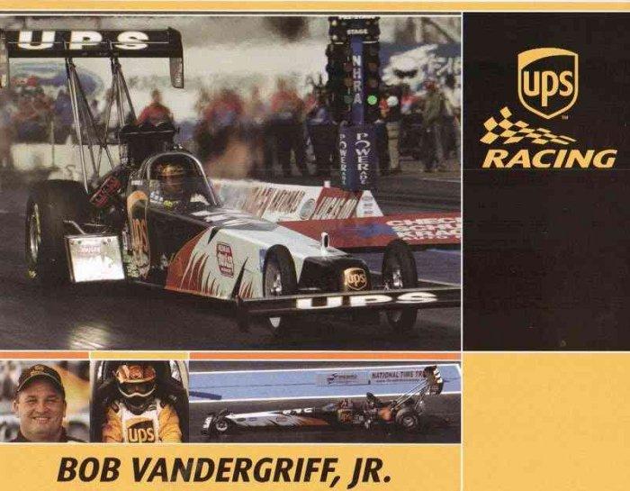 2007 NHRA TF Handout Bob Vandergriif