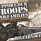 2007 NHRA TF Handout Hillary Will Support Our Troops wm
