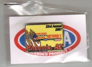 2007 NHRA Event Pin Phoenix