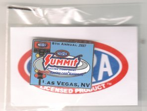 2007 NHRA Event Pin Las Vegas (Spring Race Pin #1) Free Shipping