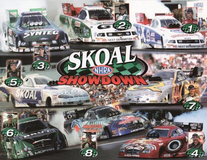 2006 NHRA FC Handout Skoal Showdown