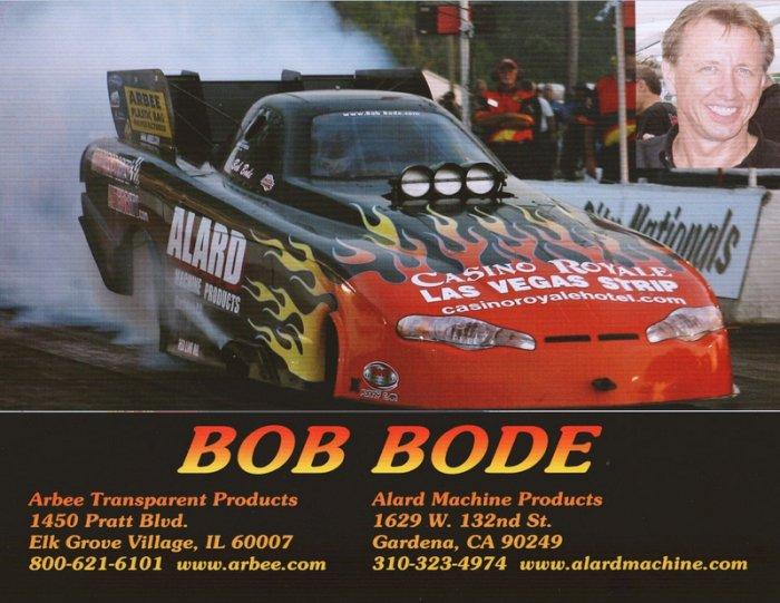 2006 NHRA FC Handout Bob Bode (version #3)
