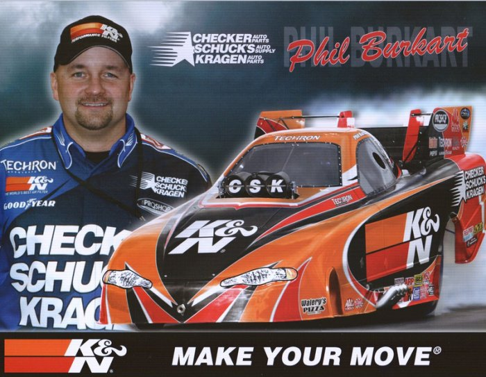 2006 NHRA FC Handout Phil Burkhart (version #2)