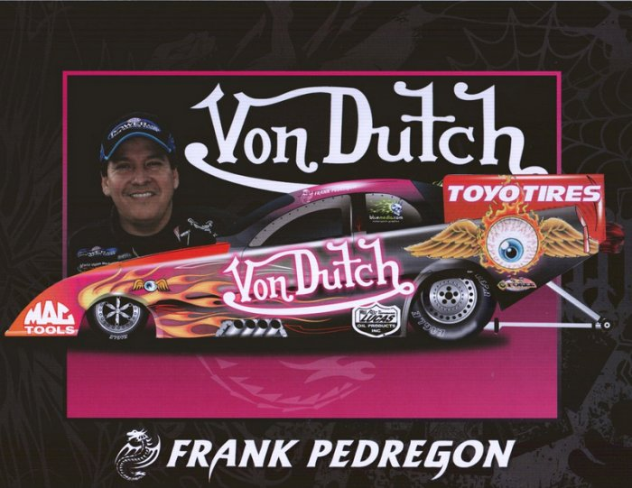 2006 NHRA FC Handout Frank Pedregon (version #2)