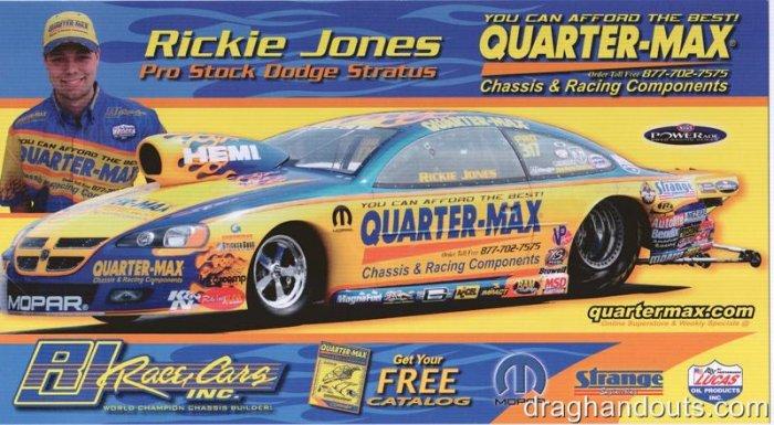 2008 NHRA PS Handout Rickie Jones (version #1)