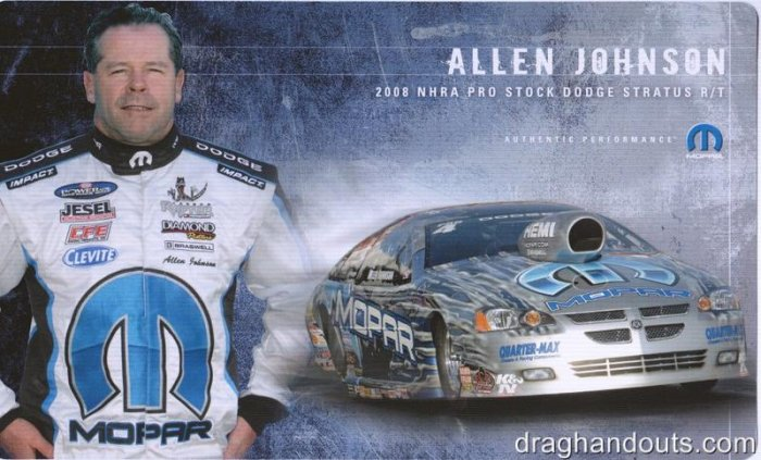 2008 NHRA PS Handout Allen Johnson (version #2)