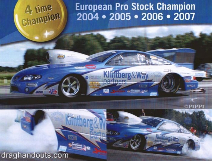 2008 NHRA PS Handout Jimmy Lars Alund
