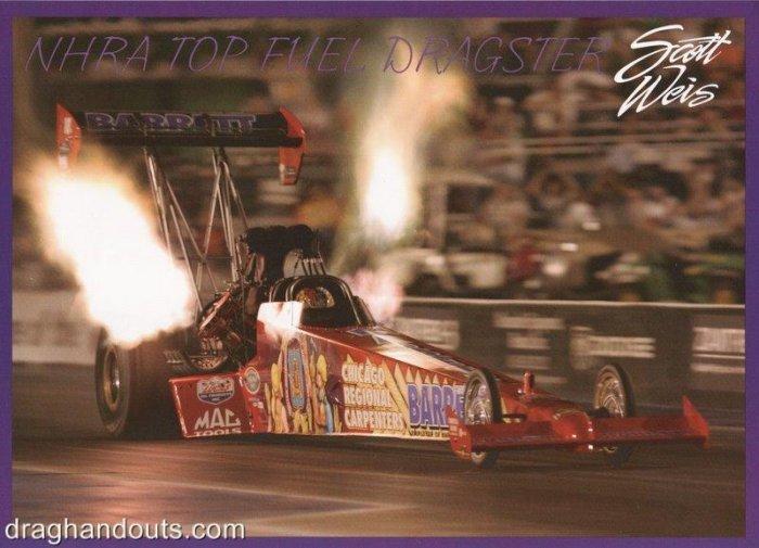2006 NHRA TF Handout Scott Weis (version #2)