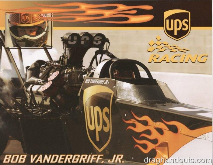 2006 NHRA TF Handout Bob Vandergriff (version #1)