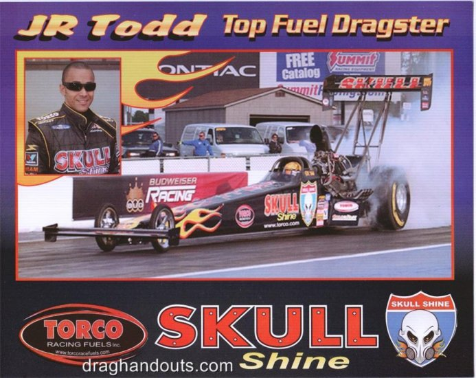 2006 NHRA TF Handout JR Todd (version #2)