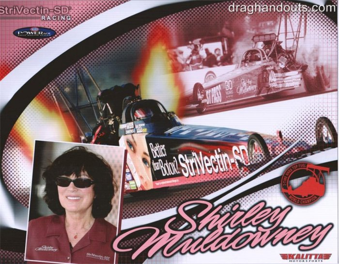 2006 NHRA TF Handout Shirley Muldowney wm