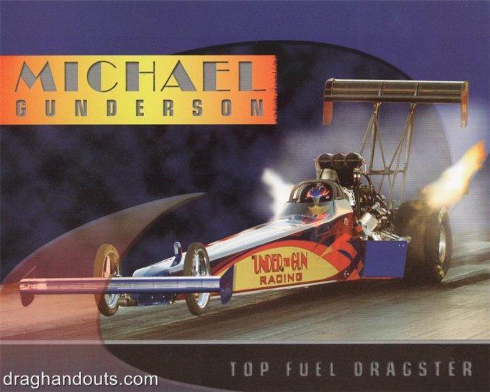 2006 NHRA TF Handout Michael Gunderson