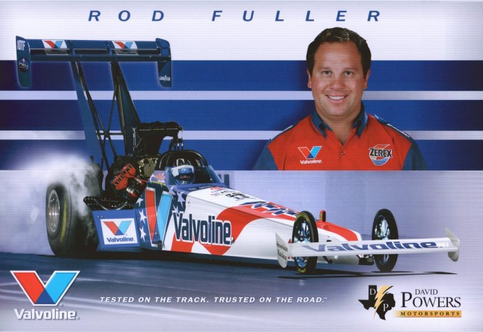 2006 NHRA TF Handout Rod Fuller (version #1)