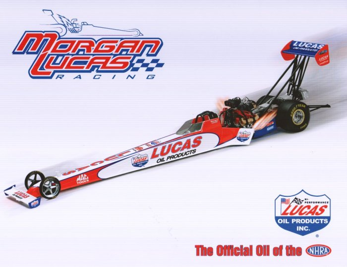 2006 NHRA TF Handout Morgan Lucas (version #1)
