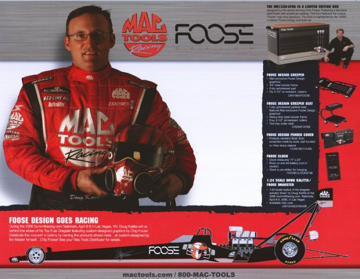 2006 NHRA TF Handout Doug Kalitta (version #3)