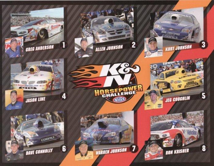 2008 NHRA PS Handout-K & N Horsepower Challenge