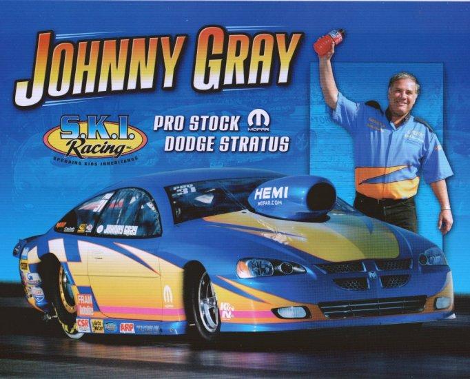2008 NHRA PS Handout Johnny Gray