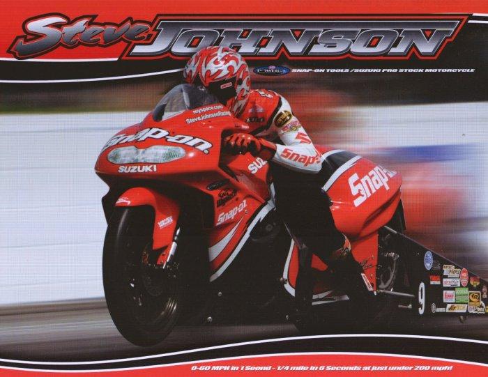 2008 NHRA PSB Handout Steve Johnson
