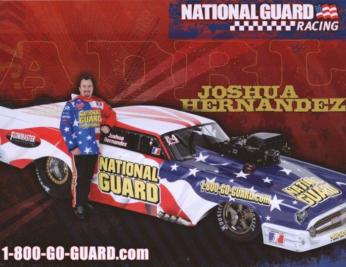 2008 NHRA PM Handout Josh Hernandez