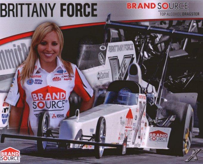 2008 NHRA TAD Handout Brittany Force wm