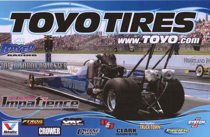 2008 NHRA TAD Handout Thomas Bayer