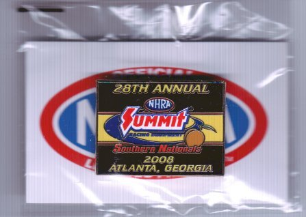 2008 NHRA Event Pin Atlanta