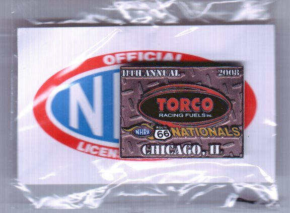 2008 NHRA Event Pin Chicago