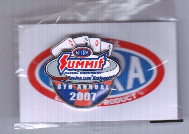 2007 NHRA Event Pin Las Vegas (Spring Race Pin #2)