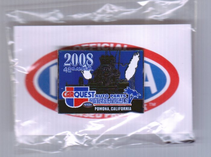 2008 NHRA Event Pin Pomona Winternationals
