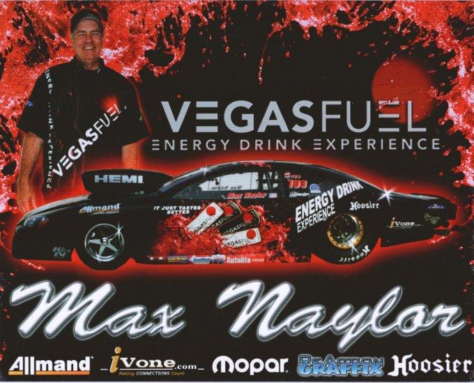 2008 NHRA PS Handout Max Naylor