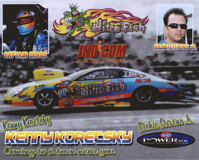 2008 NHRA PS Handout Richie Stevens