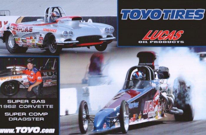 2008 NHRA Sportsman Handout Thomas Bayer